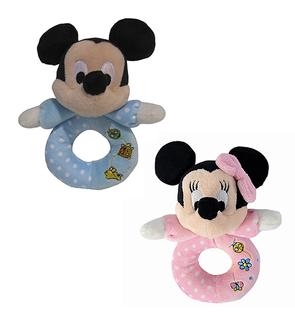 Hochet Mickey / Minnie Cute